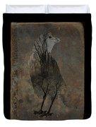 Inside Crow Duvet Cover