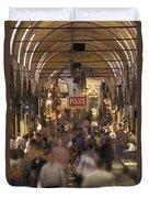 Inside Istanbuls Grand Bazaar Duvet Cover