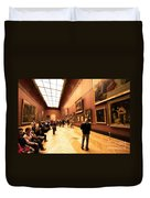Inside Louvre Museum  Duvet Cover by Charuhas Images