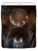 Inside Of Mystras Church Duvet Cover