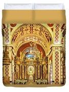 Inside The Basilica Duvet Cover