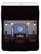 Inside The Church Of The Mediator Duvet Cover