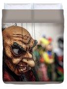 Inside The Puppet Store - Prague Duvet Cover