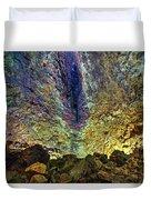 Inside The Volcano Thrihnukagigur - Iceland Duvet Cover