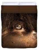 Inside Thurstons Lava Tube Duvet Cover