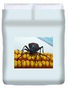 Inspecting Beetle Duvet Cover