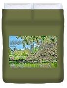 Inspirational - Cherry Blossoms Duvet Cover