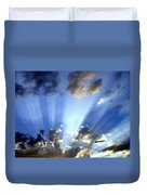 Inspiring Sunburst Duvet Cover