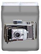 Instant Vintage Polaroid Camera Duvet Cover