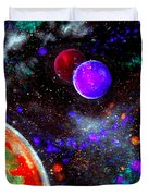 Intense Galaxy Duvet Cover