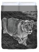 Intensity 3 Bw Duvet Cover