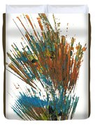 Intensive Abstract Expressionism Series 64.102511 Duvet Cover
