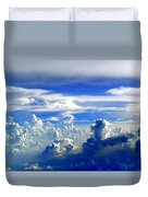 Interacting Clouds Duvet Cover