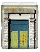 Interesting Door Duvet Cover