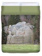 Interesting Rock Formation - Elephant Rocks Duvet Cover
