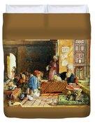 Interior Of A School - Cairo Duvet Cover