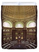 Interior Of The Library Of Congress Duvet Cover