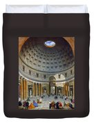 Interior Of The Pantheon Duvet Cover