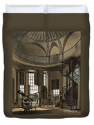 Interior Of The Radcliffe Observatory Duvet Cover