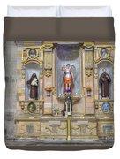 Interior View Of Church In Guanajuato Mexico Duvet Cover