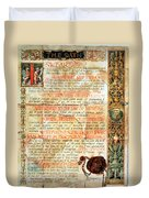 International Code Of Medical Ethics Duvet Cover by Science Source