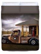 International Explosives Truck Duvet Cover