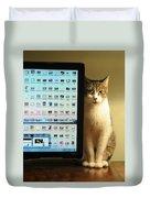Desktop Security Duvet Cover