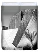 Intersection 1 Bw Las Vegas Duvet Cover