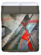 Intersection 11 Duvet Cover