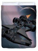 Interstellar Spacecraft Duvet Cover