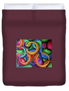 Intertwined Bonds Duvet Cover