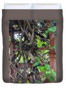 Intertwined Vine Trellis Duvet Cover