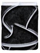 Interesting In Black Duvet Cover