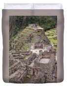 Intihuatana Pyramid Duvet Cover
