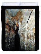Into Crystal Cave Duvet Cover