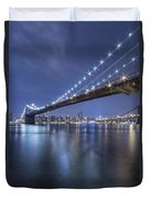 Into The Arms Of The Night Duvet Cover