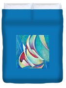 Into The Breeze Duvet Cover