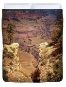 Into The Canyon Duvet Cover by Susan Rissi Tregoning