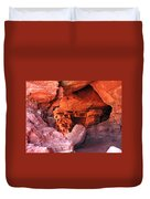 Into The Cave Duvet Cover