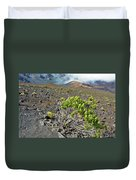 Into The Crater Duvet Cover