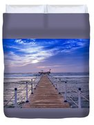 Into The Deep Water Duvet Cover