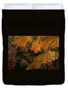 Into The Fall Duvet Cover