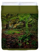 Into The Forest Of Fontainebleau Duvet Cover