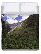 Into The Heart Of Kauai Duvet Cover