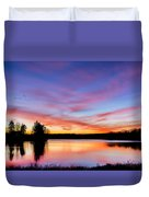 Into The Morning Duvet Cover