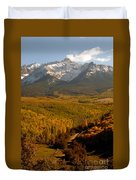 Into The Mountains Duvet Cover