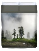 Into The Myst Duvet Cover