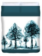 Into The Mysterious Forest Of Imagination Duvet Cover