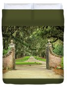 Into The Oaks Duvet Cover