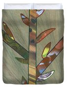 Into The Tall Grass Duvet Cover